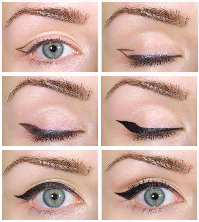 Как сделать идеальные стрелки на глаза