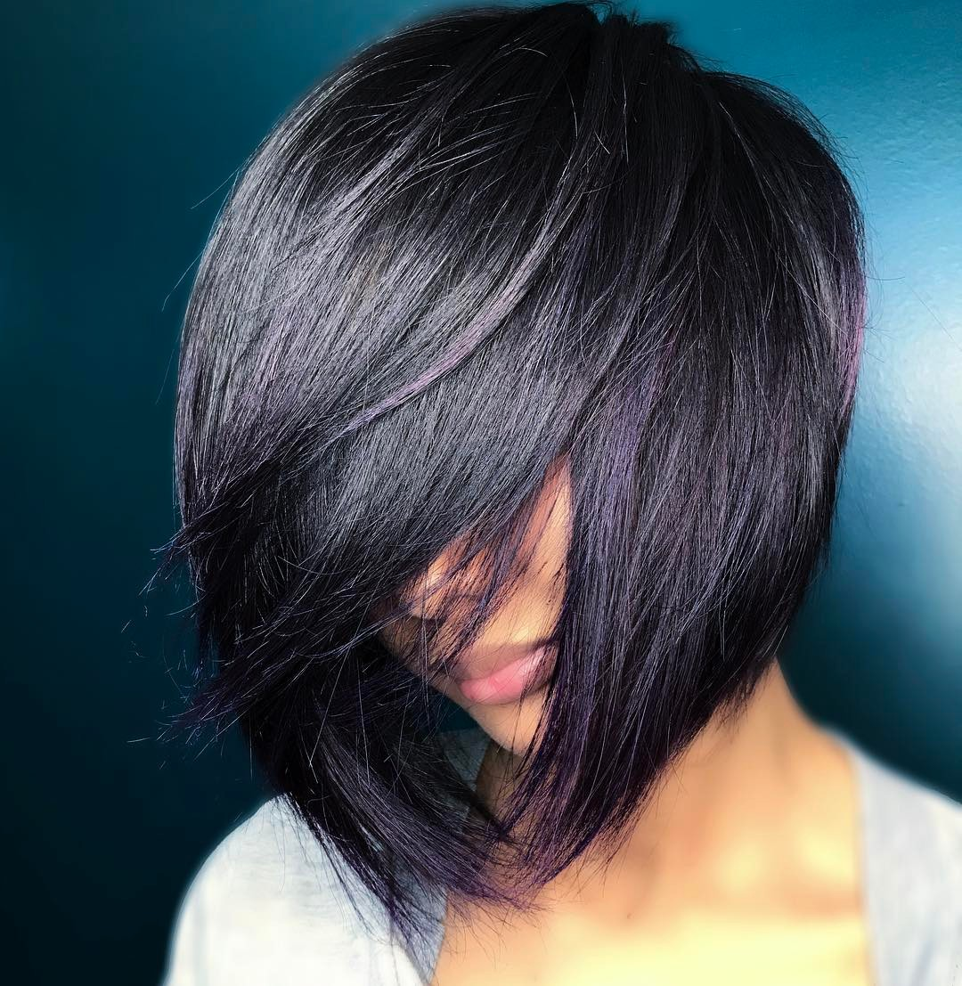 короткие стрижки для густых и прямых волос фото 15