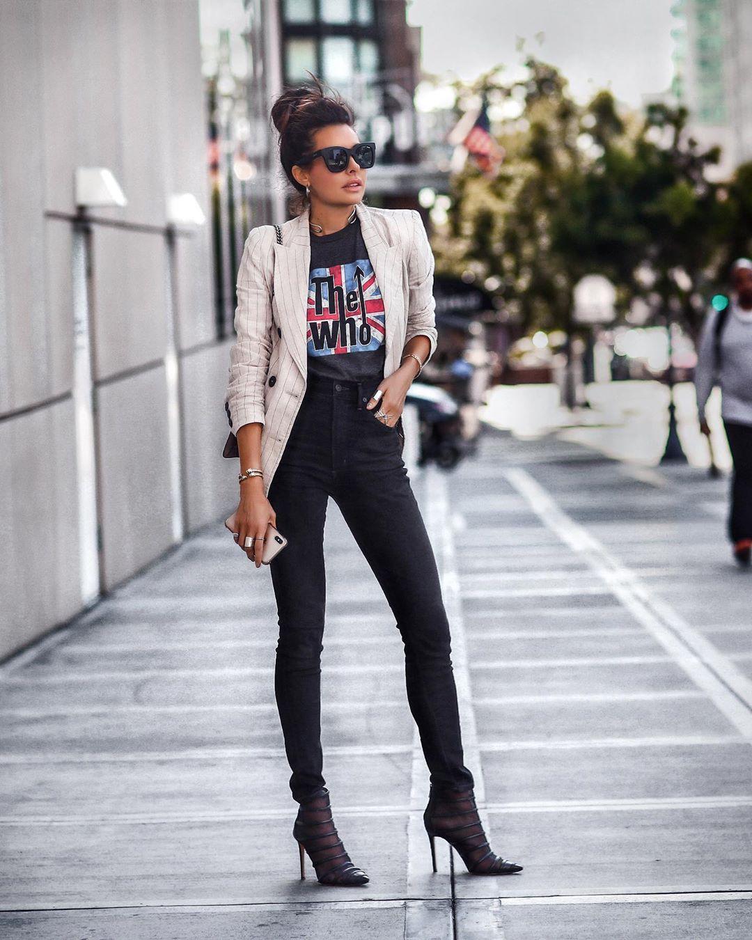 джинсы с высокой талией фото 5