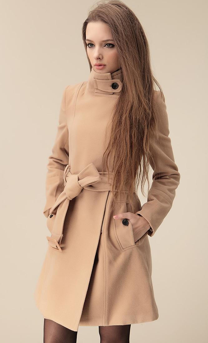 как красиво завязать пальто фото 1