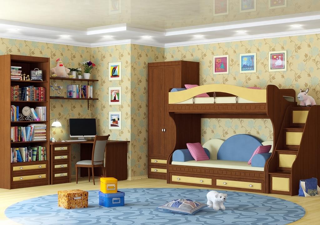 необычные детские комнаты фото 12
