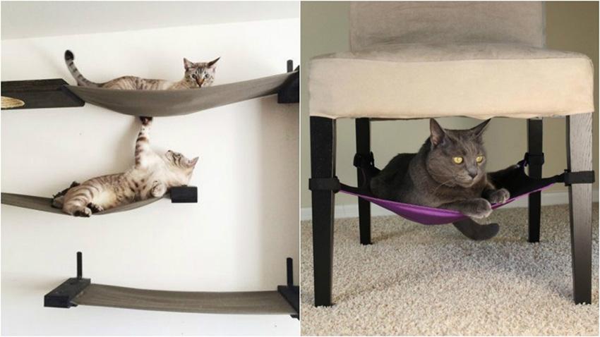 Квартирные идеи для кошек фото 36