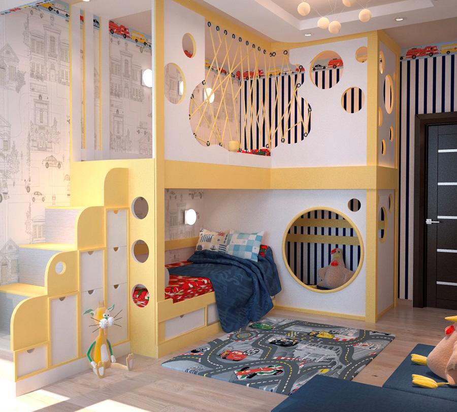 необычные детские комнаты фото 10