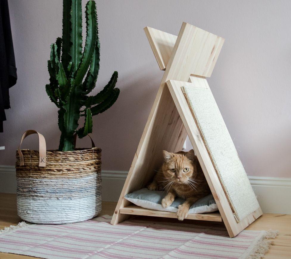 Квартирные идеи для кошек фото 32