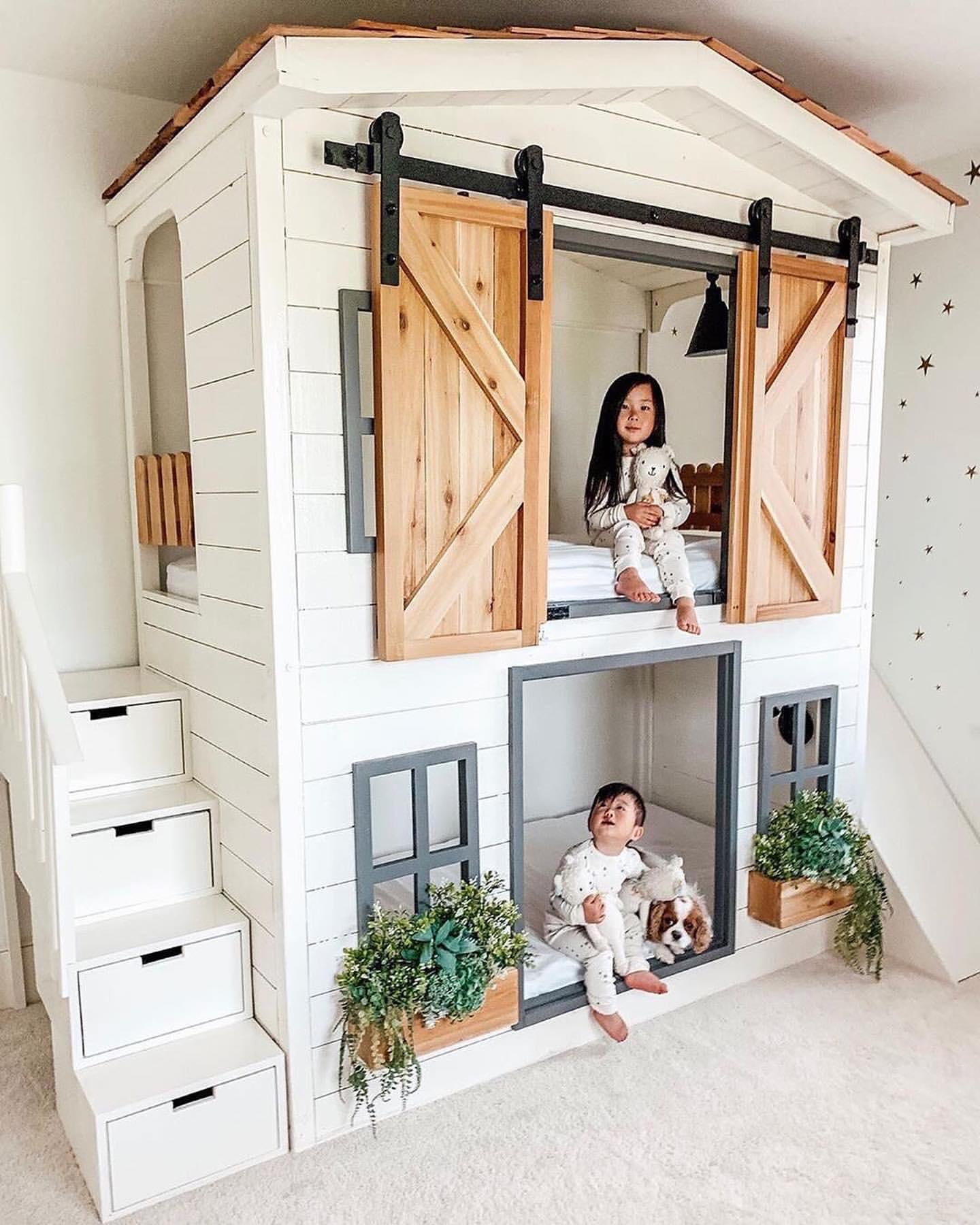 необычные детские комнаты фото 11