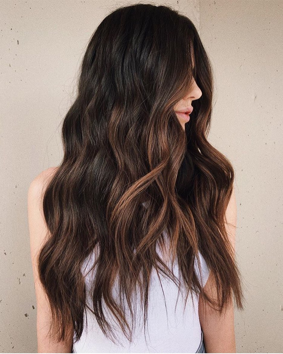 модный цвет волос 2020 фото 7