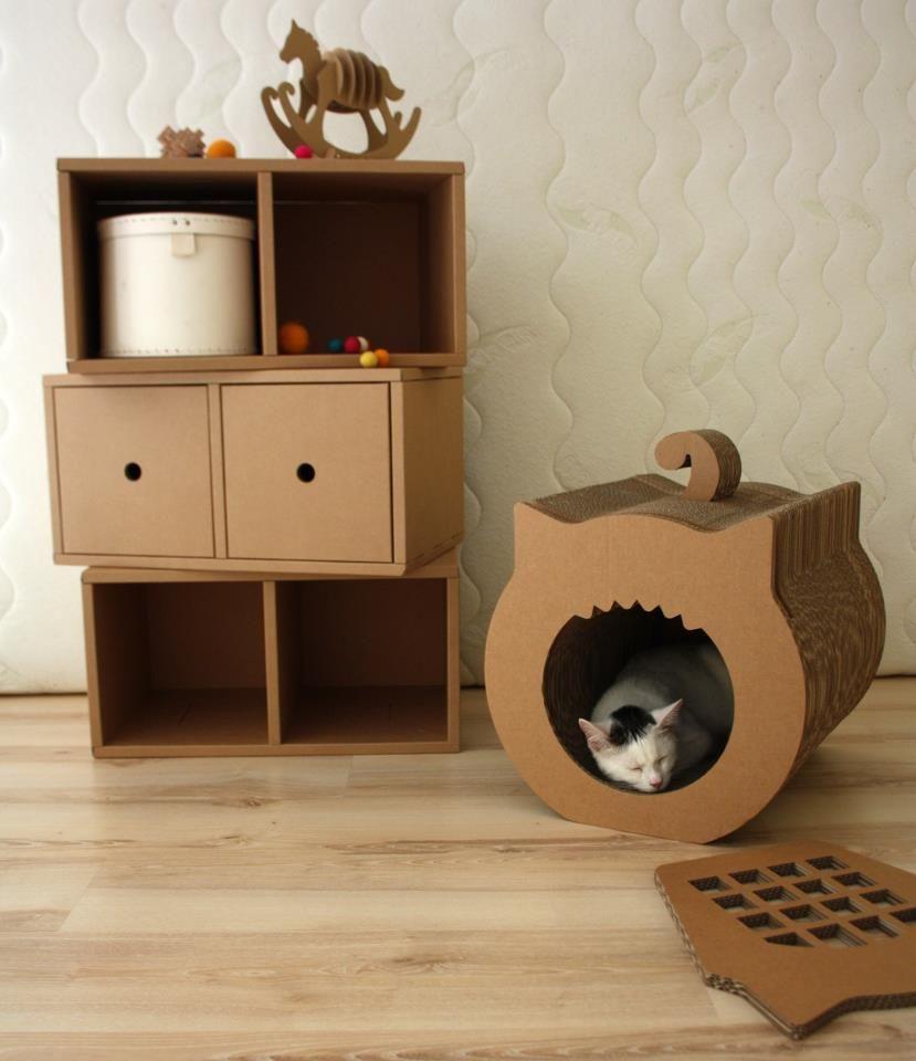 Квартирные идеи для кошек фото 31