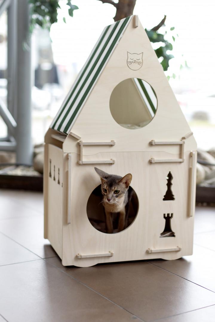 Квартирные идеи для кошек фото 20