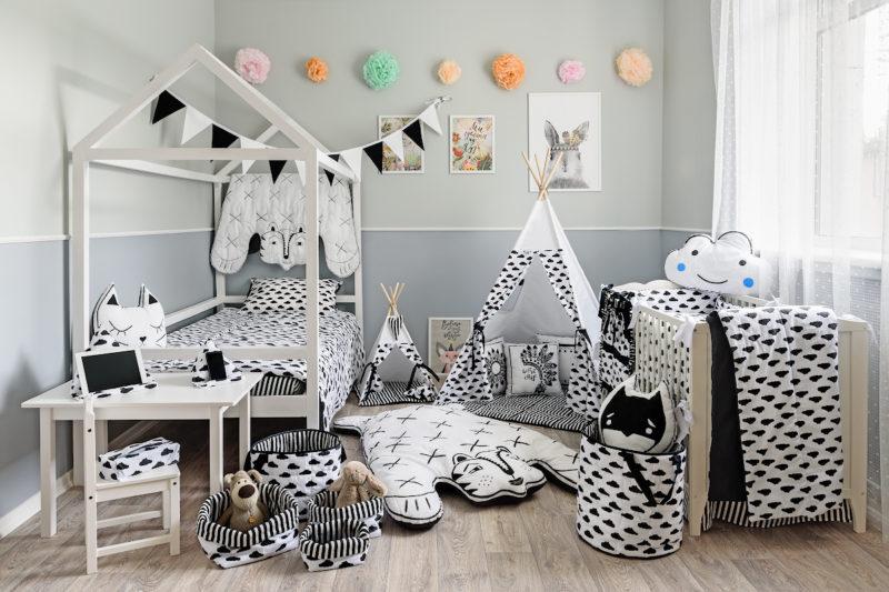 Дизайн интерьера детской комнаты фото 14