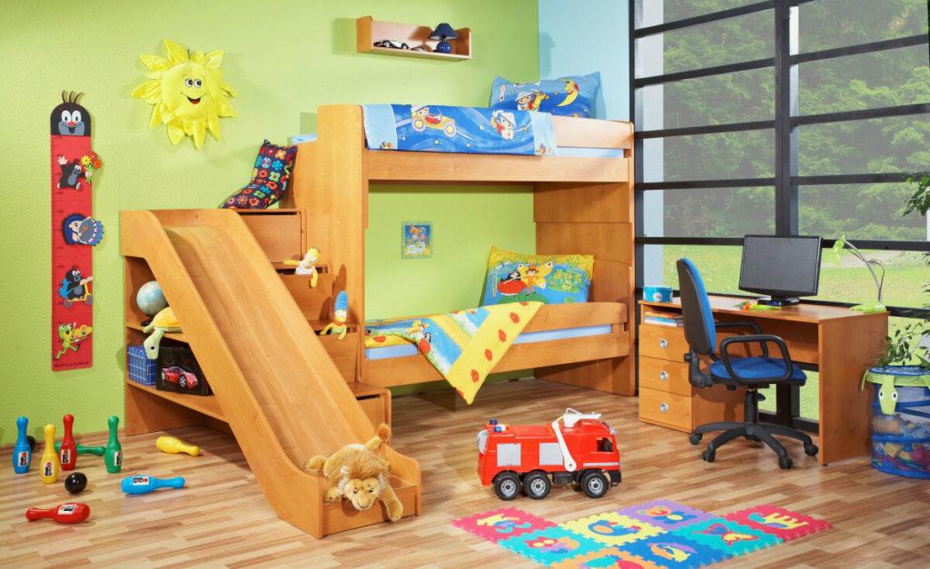 необычные детские комнаты фото 16