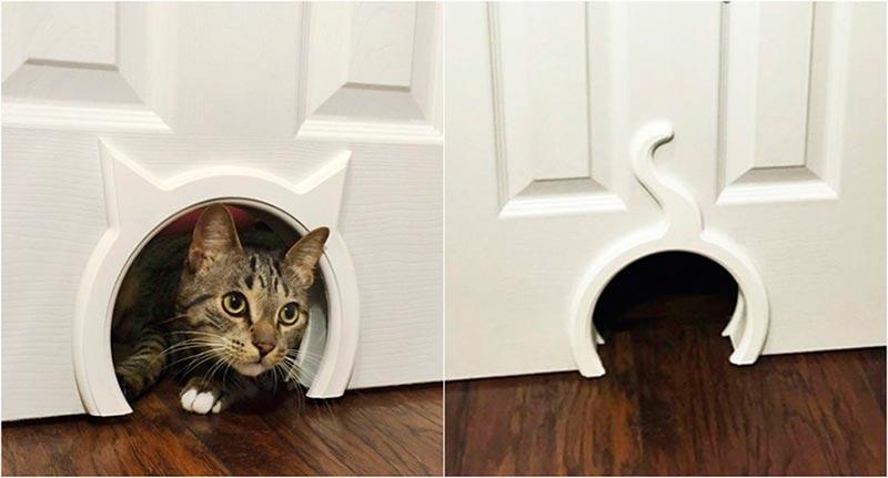 Квартирные идеи для кошек фото 14