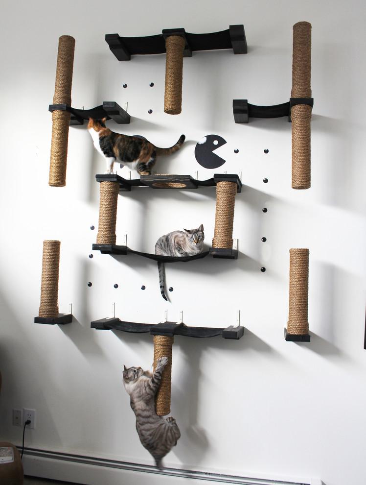 Квартирные идеи для кошек фото 11