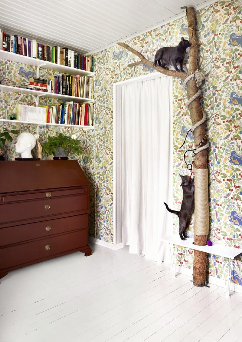 Квартирные идеи для кошек фото 7