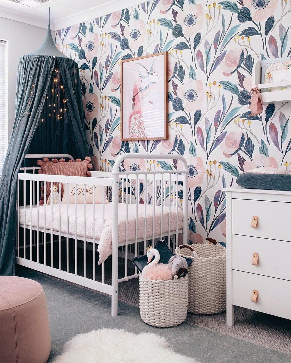 Дизайн интерьера детской комнаты фото 8