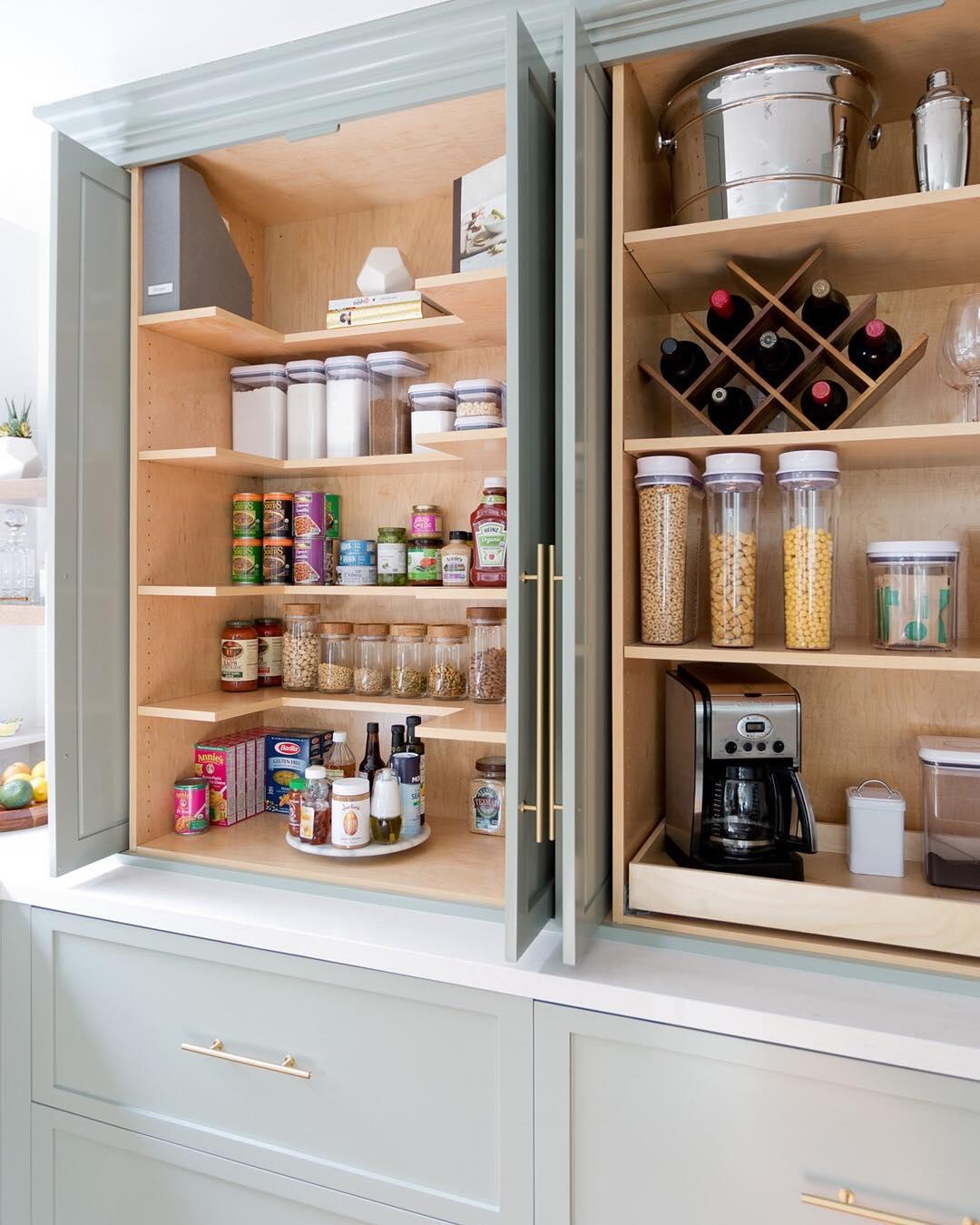 организация хранения на кухне фото 1