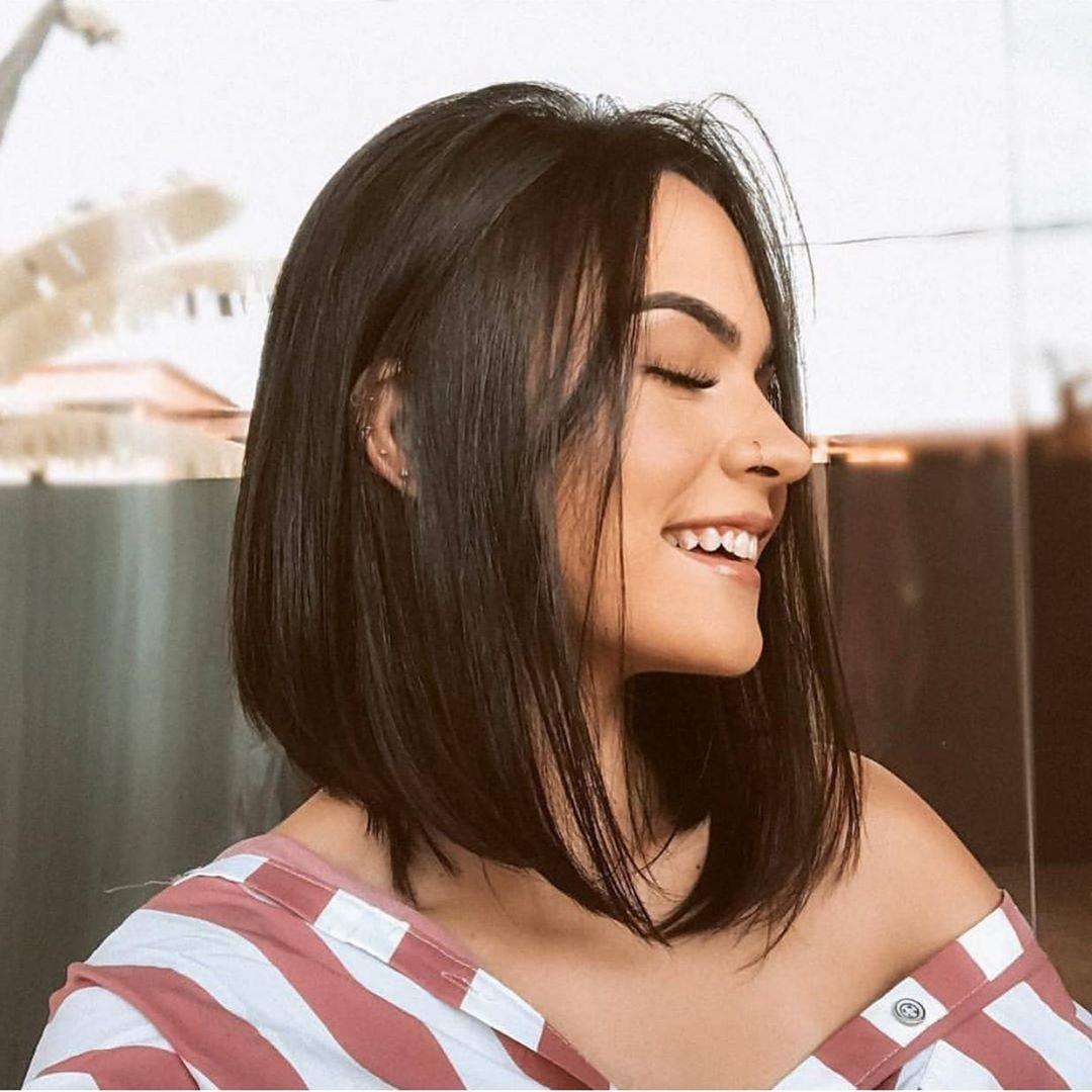 стрижки на прямые волосы фото 11