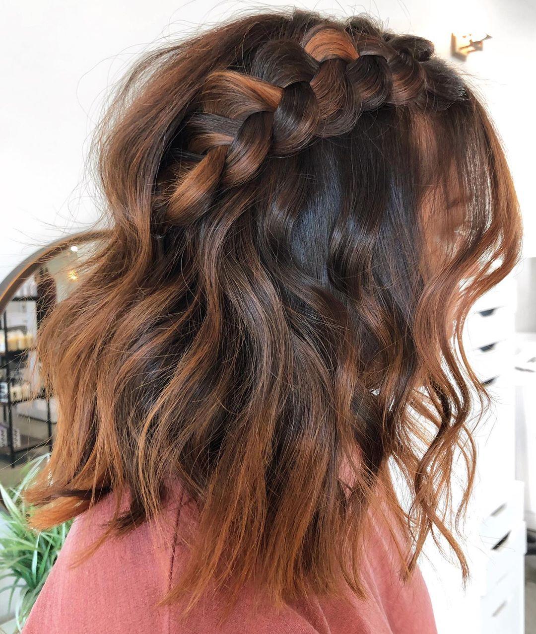 новинки для волос средней длины фото 16