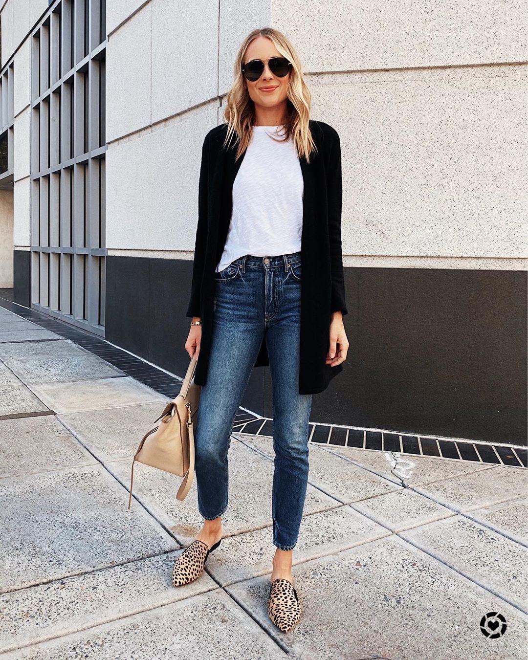 С какой обувью носить джинсы фото 3