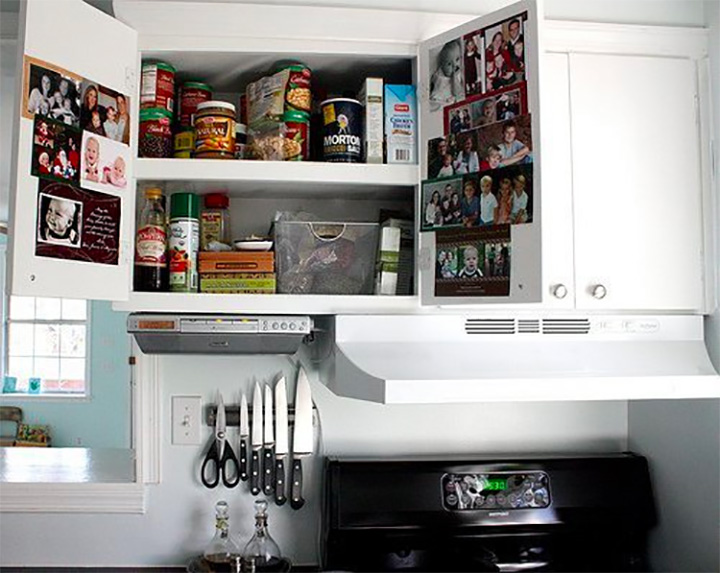 white-kitchen-cabinets-cards-inside-doors