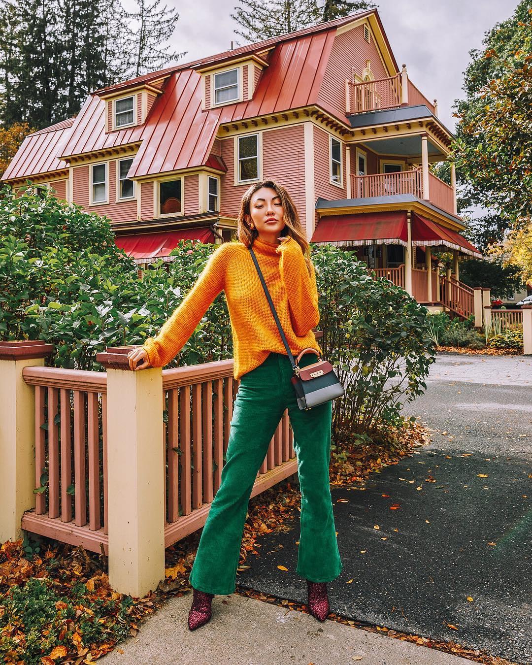 Цветовые сочетания осени 2019 фото 7