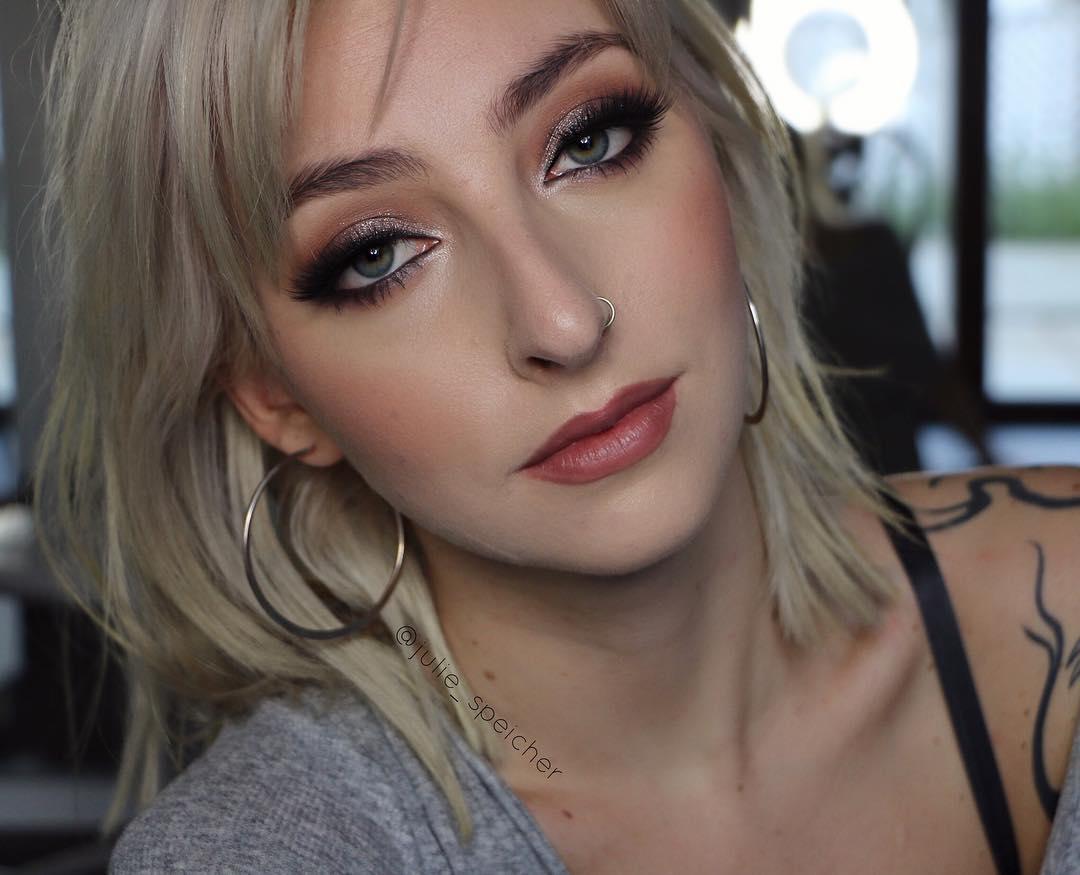 Макияж для блондинок фото 27