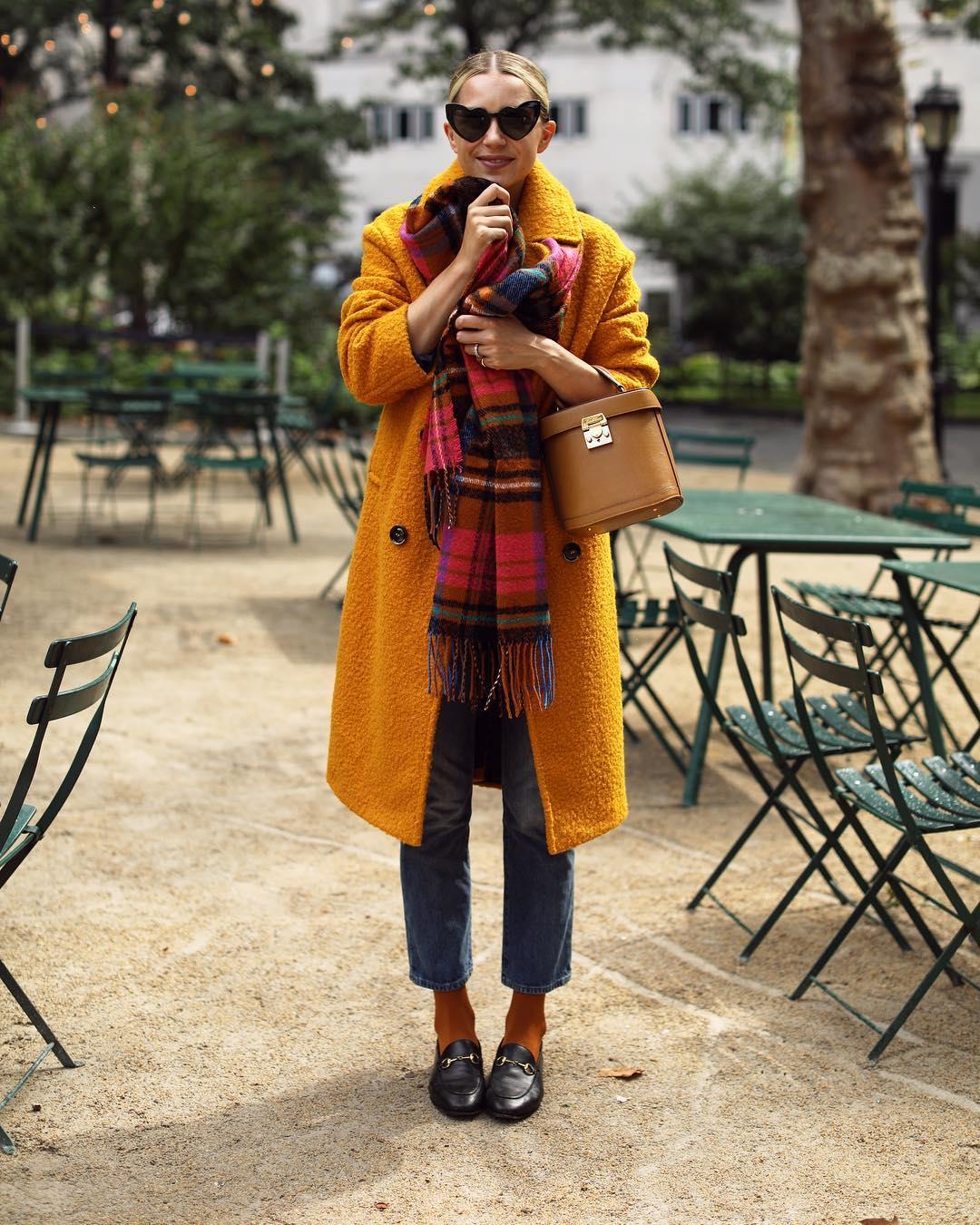 шарф с пальто фото 14
