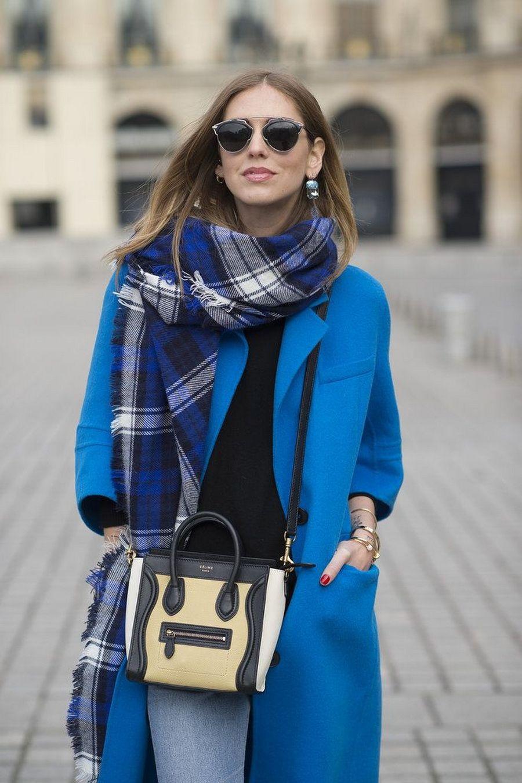 шарф с пальто фото 1