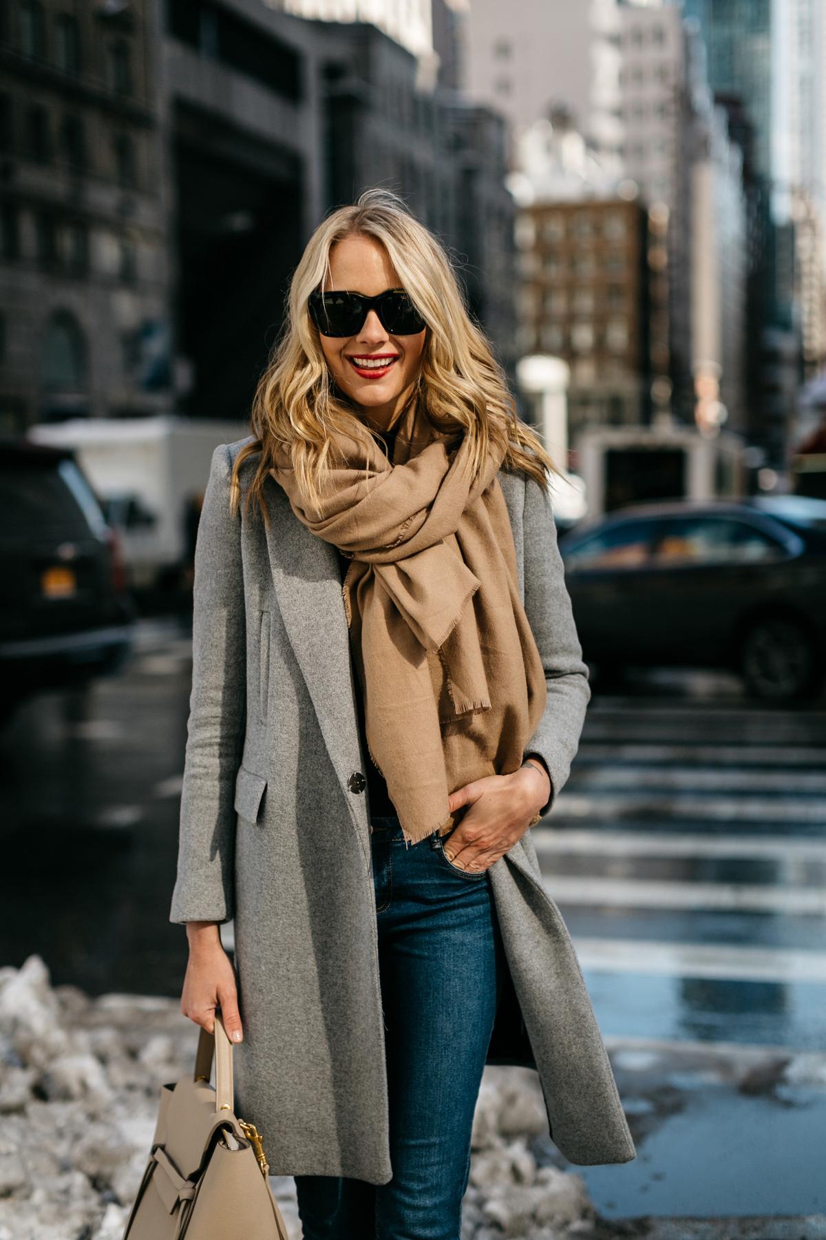 шарф с пальто фото 5