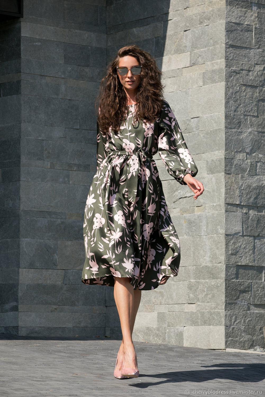 платье А-силуэта фото 12