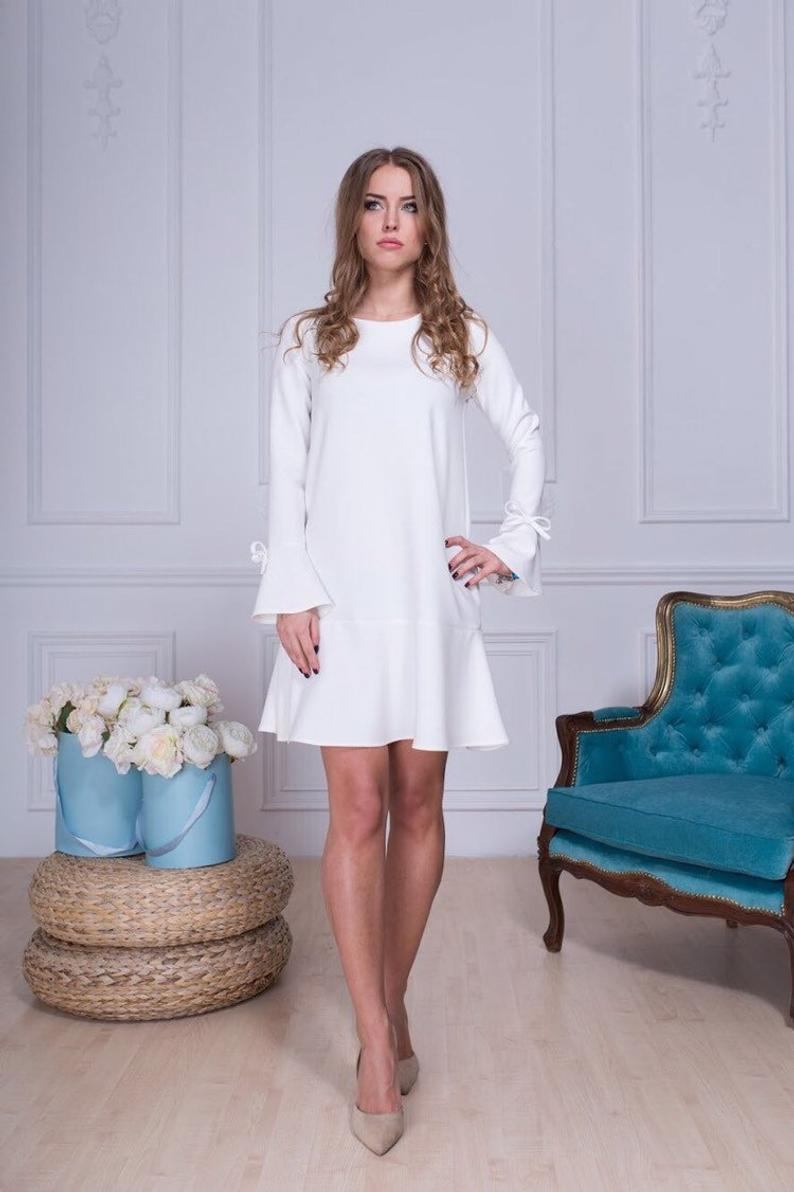 платье А-силуэта фото 2