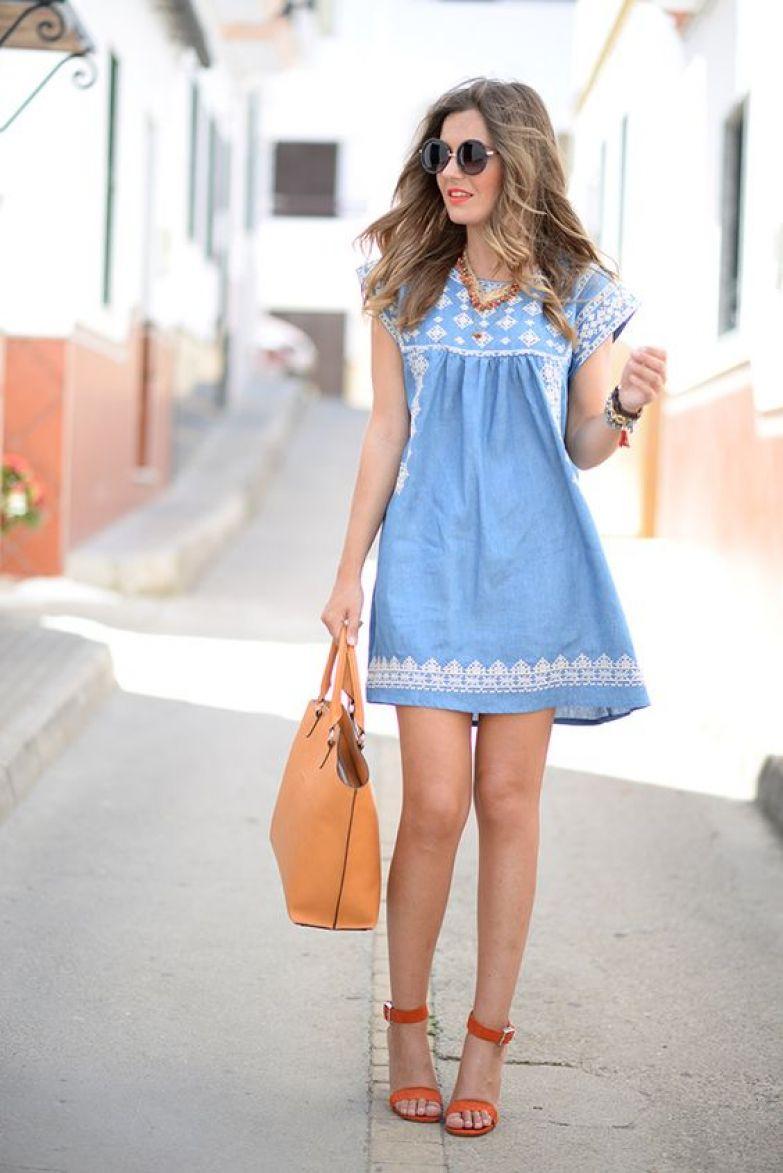 платье А-силуэта фото 9