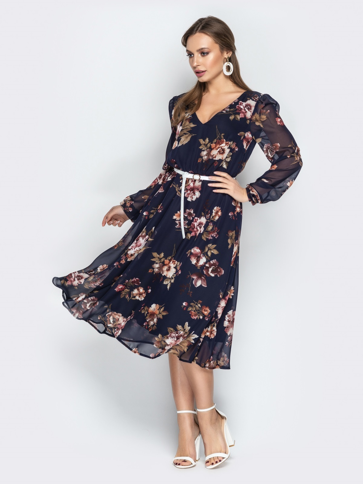 платье А-силуэта фото 11