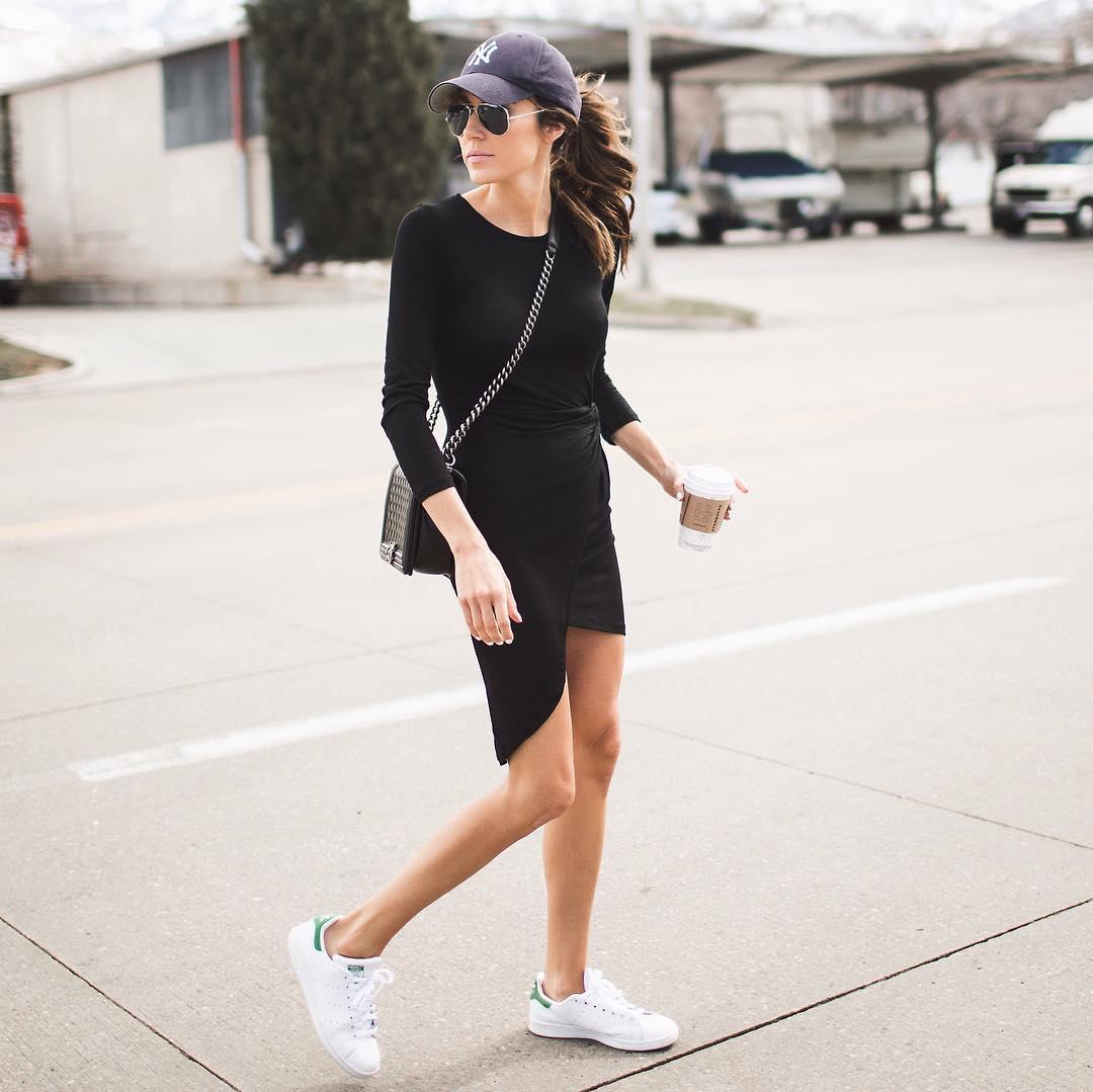 черное платье фото 17