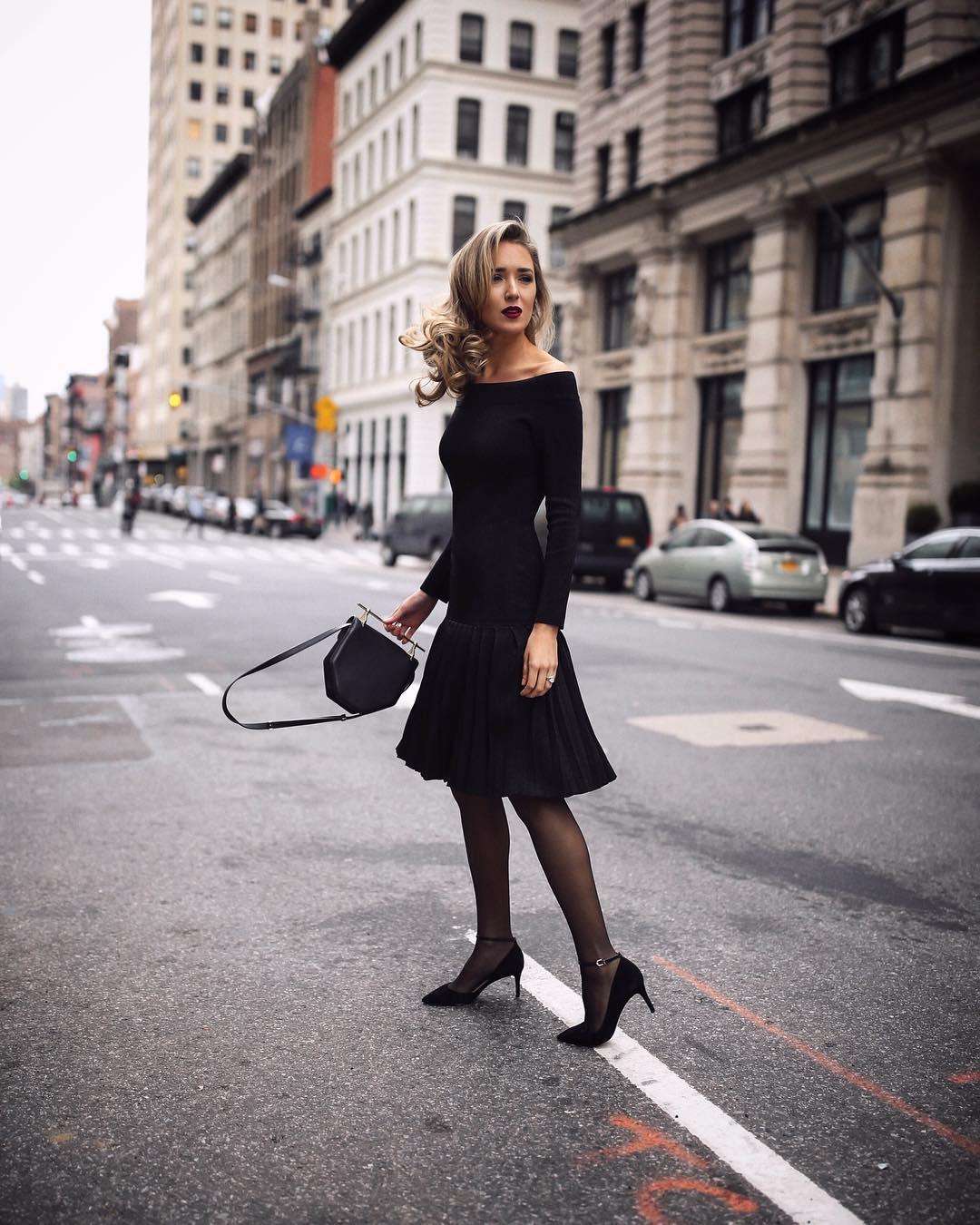 черное платье фото 1