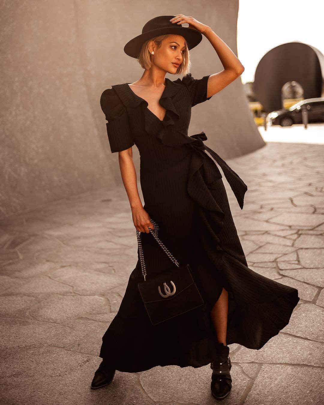 черное платье фото 12