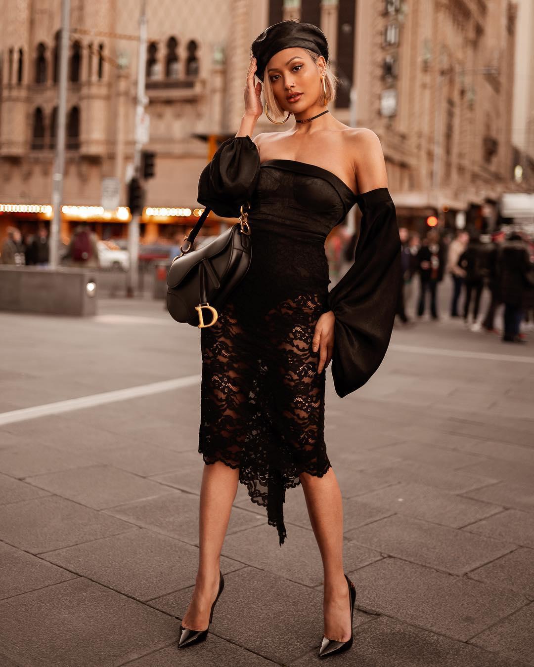 черное платье фото 2