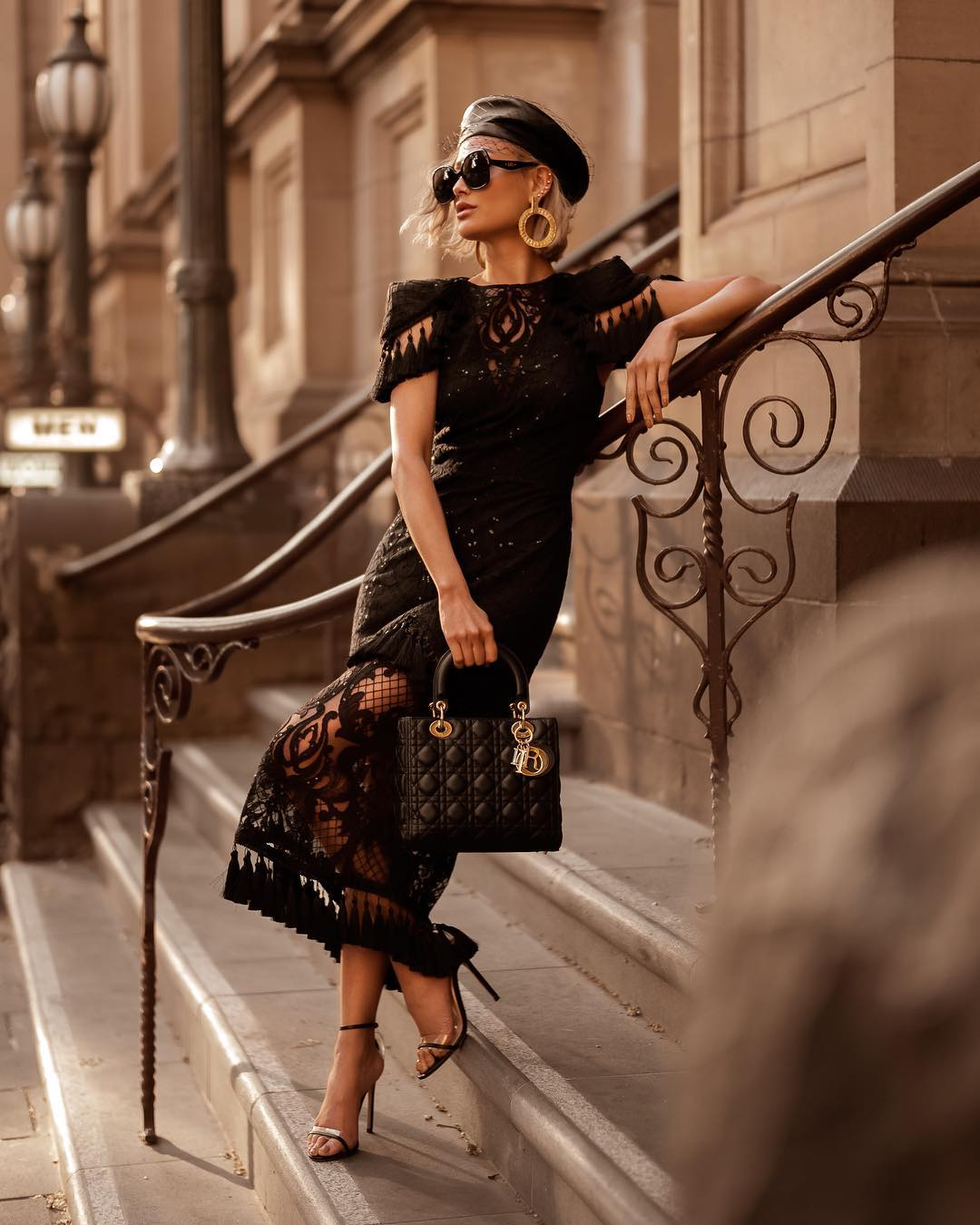 черное платье фото 3