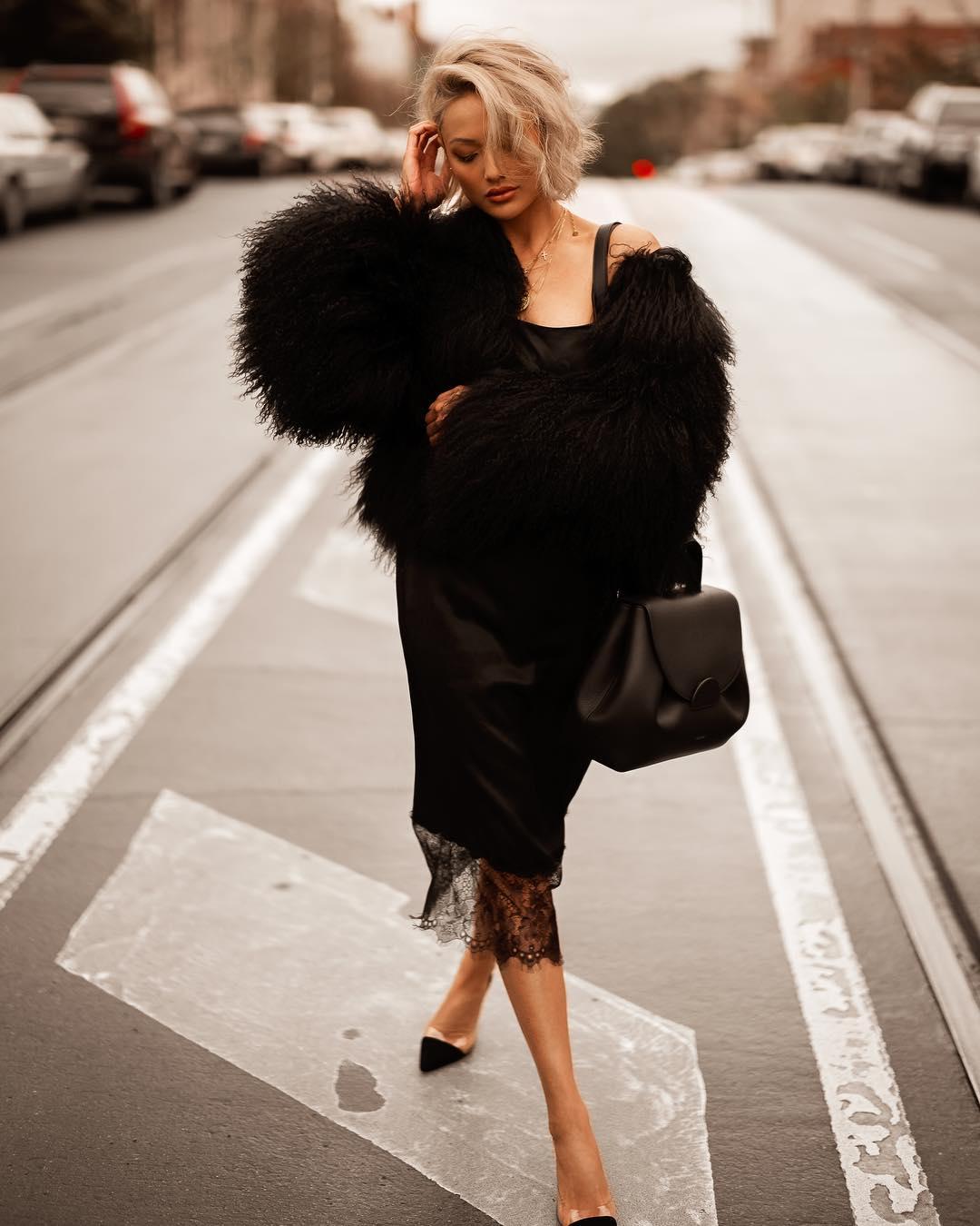 черное платье фото 4