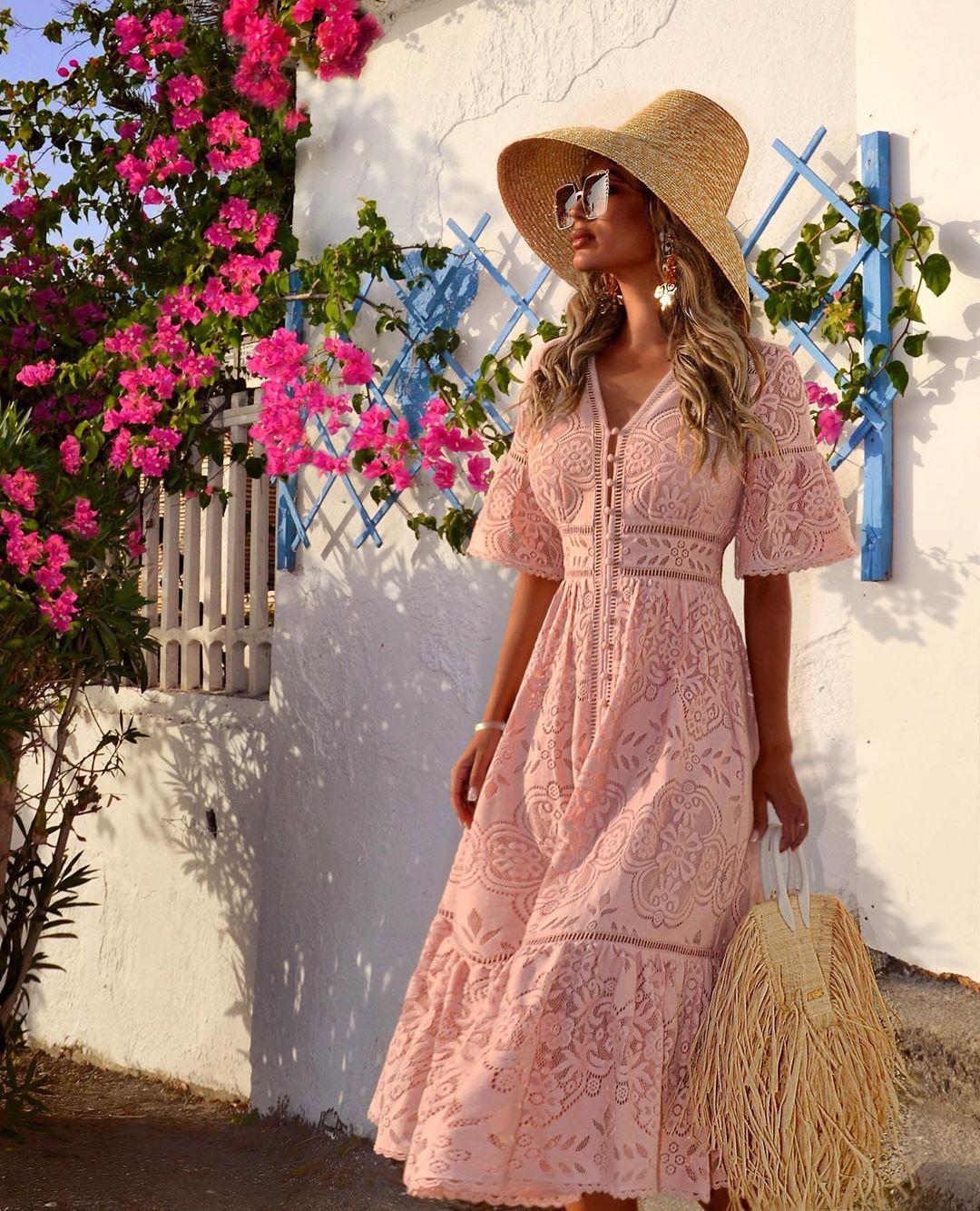 повседневные платья весна-лето 2020 фото 17