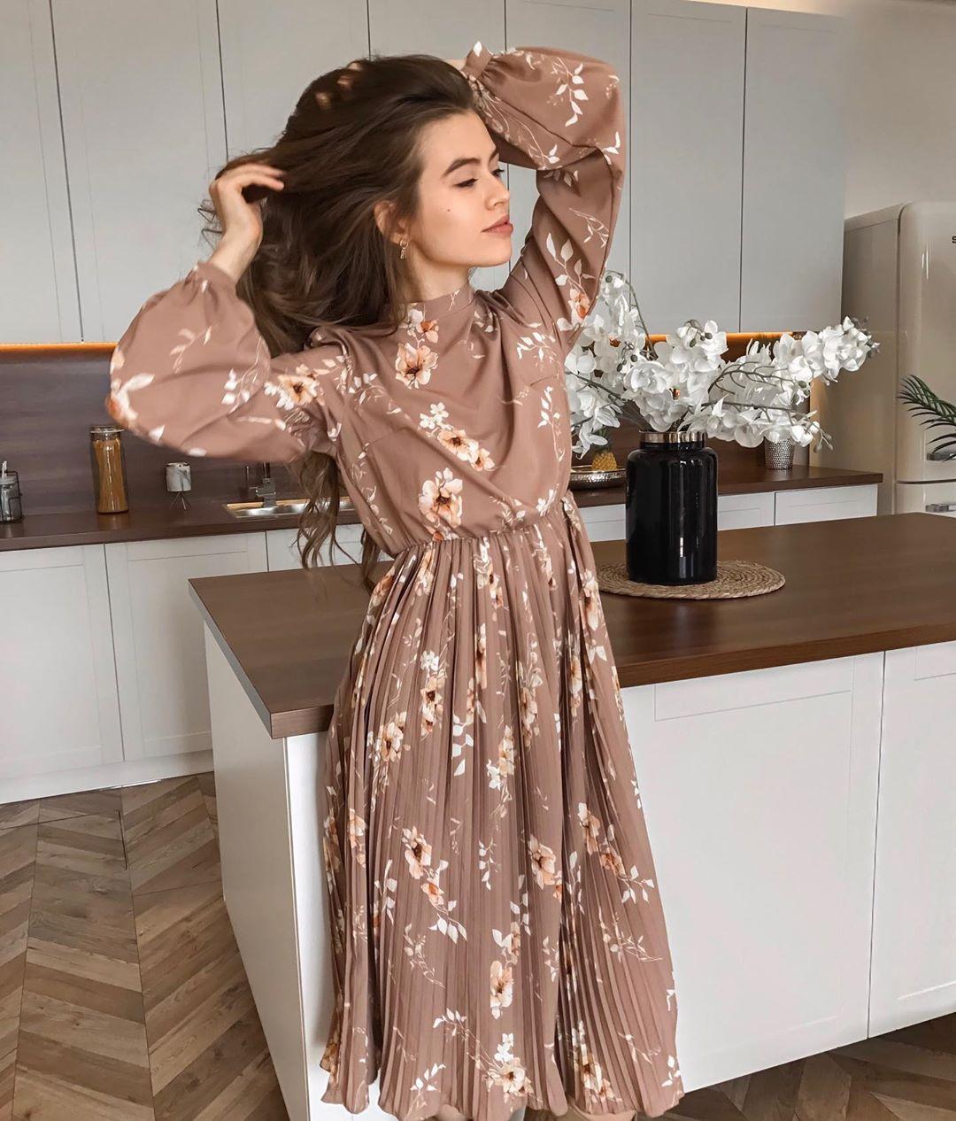 повседневные платья весна-лето 2020 фото 12