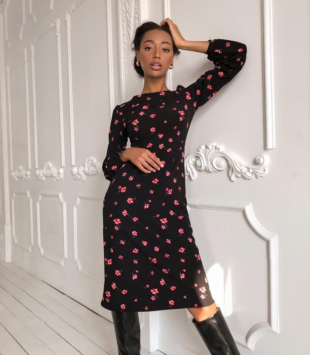 повседневные платья весна-лето 2020 фото 13