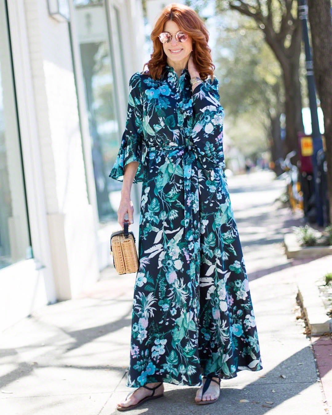 Летние платья для женщин 50 лет фото 6
