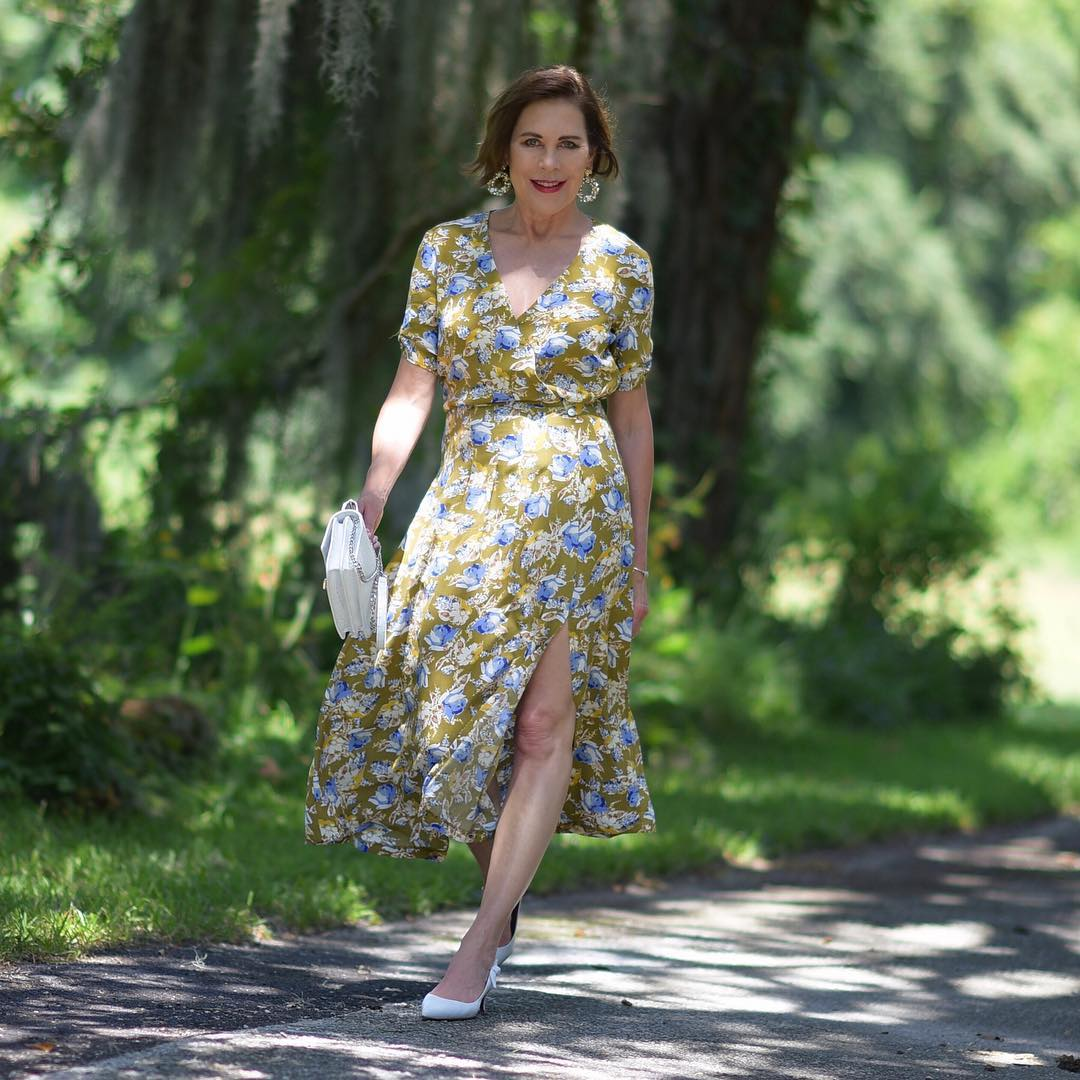 Летние платья для женщин 50 лет фото 18