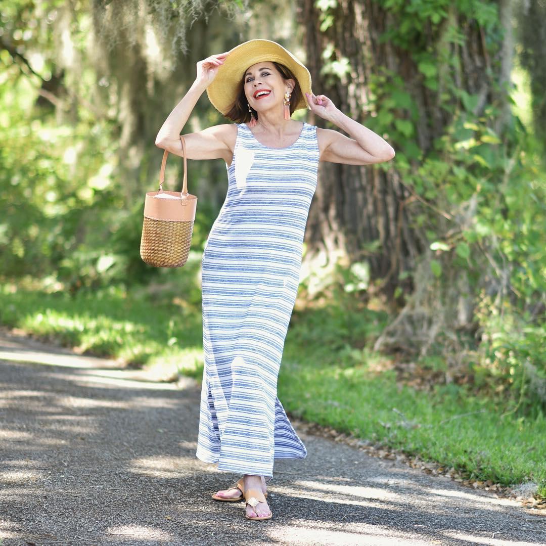 Летние платья для женщин 50 лет фото 16