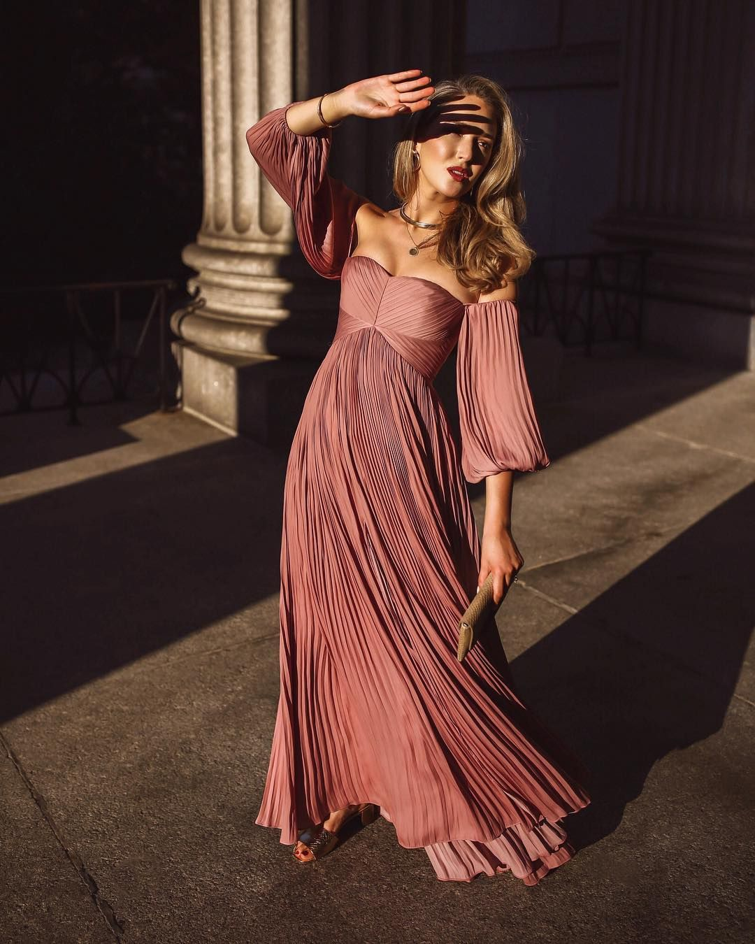 Длинные летние платья фото 13