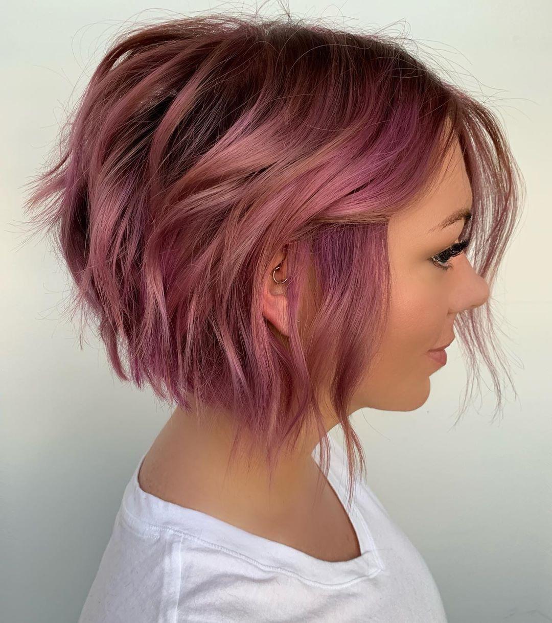 стрижка боб на волнистые волосы фото 5