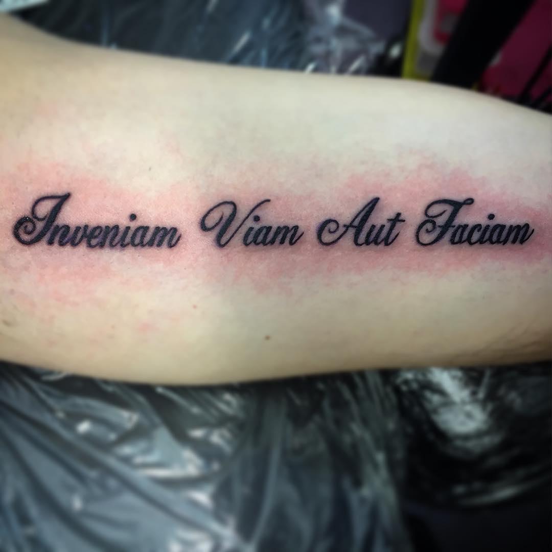 Надписи для тату на руку с переводом для девушек на латинском со смыслом