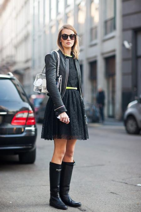 удалить все как носить платье с сапогами цены