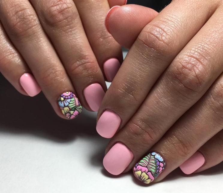 Маникюр для коротких ногтей: 40 восхитительных образов