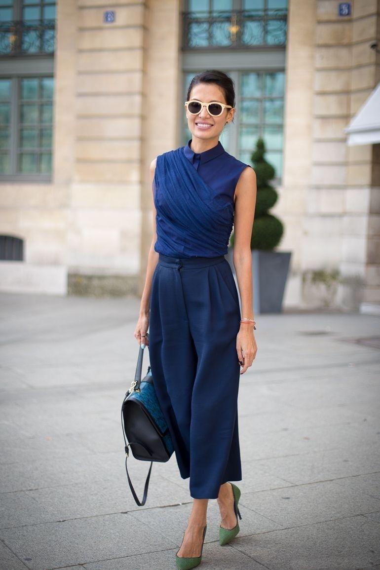 с чем носить темно-синий цвет фото 7